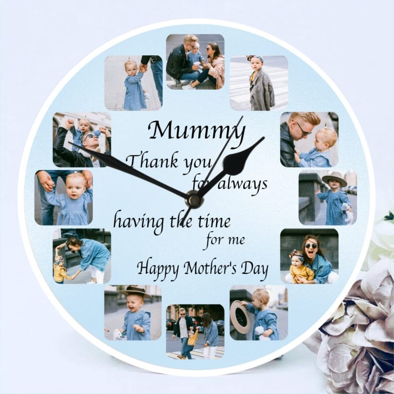Mother's day clock - Having the time for us