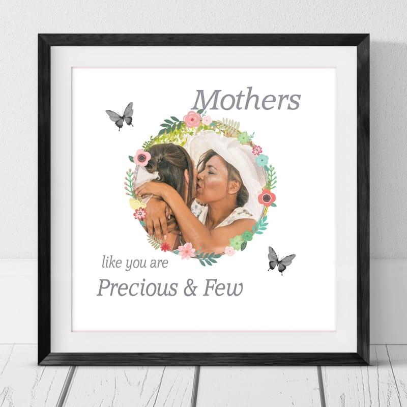 Personalised floral square print