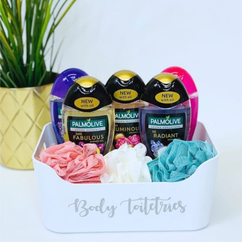 Mrs Hinch inspired body toiletries basket
