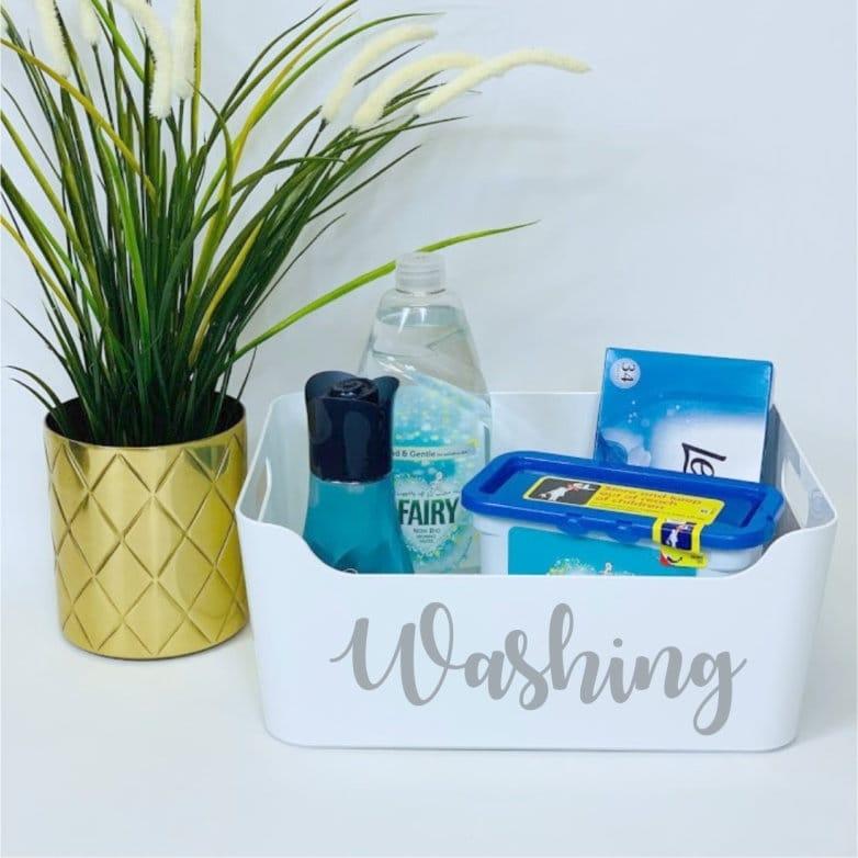 Mrs Hinch inspired washing basket