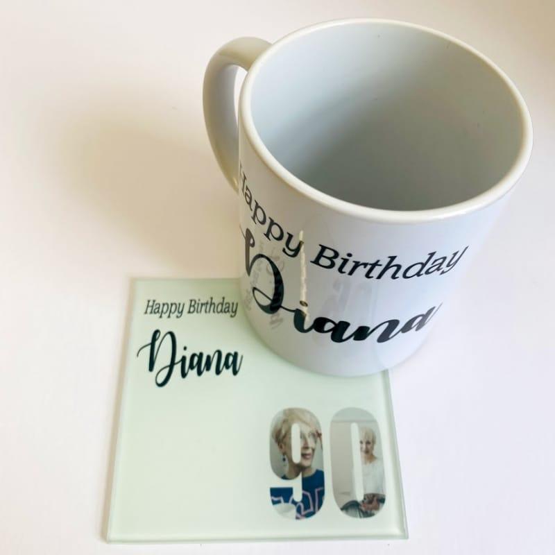 Happy 90 Birthday Mug
