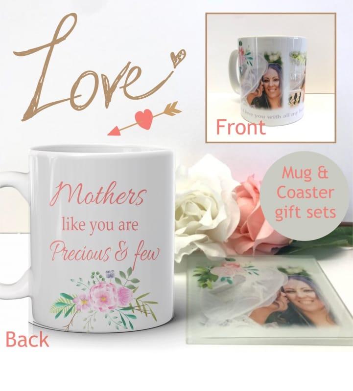 Mug & coaster floral