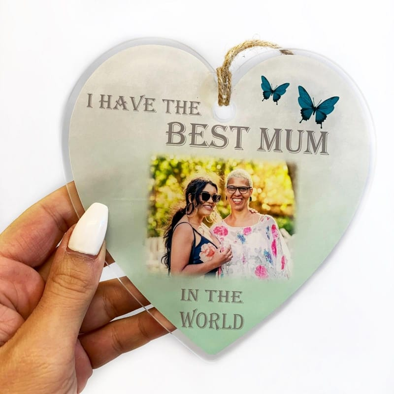 Acrylic hanging heart - Best in the world