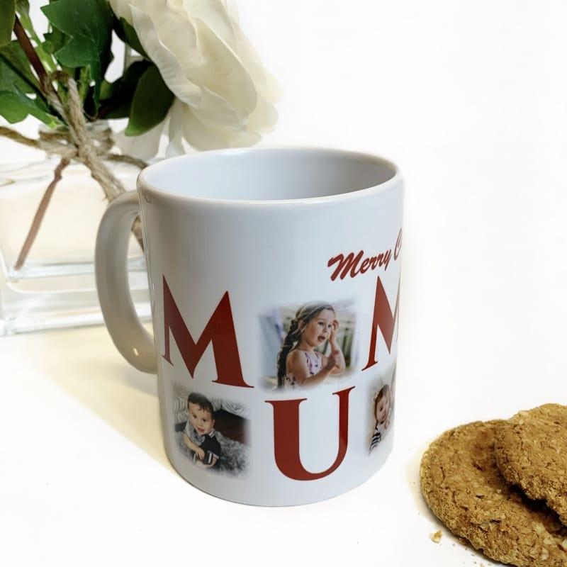 Mummy 5 Photo Mug Christmas