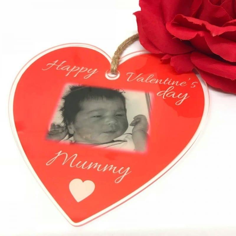 Personalised Valentine's Hanging Heart - Mummy
