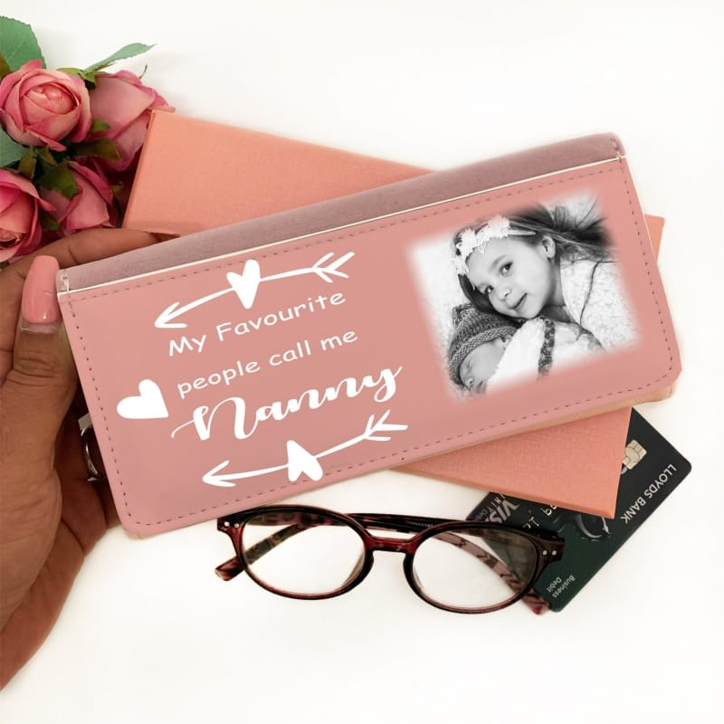 Personalised Pink Purse - My favourite people