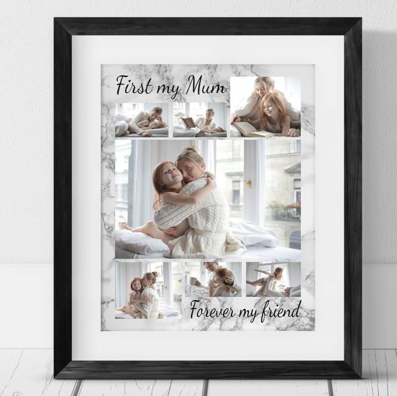 7 Photo Collage First my Mum