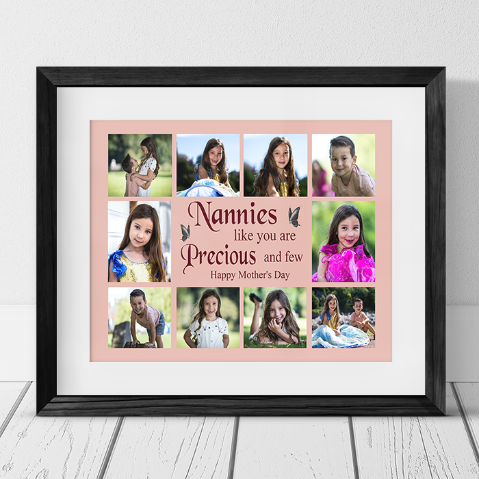 Personalised 8 photo Collage