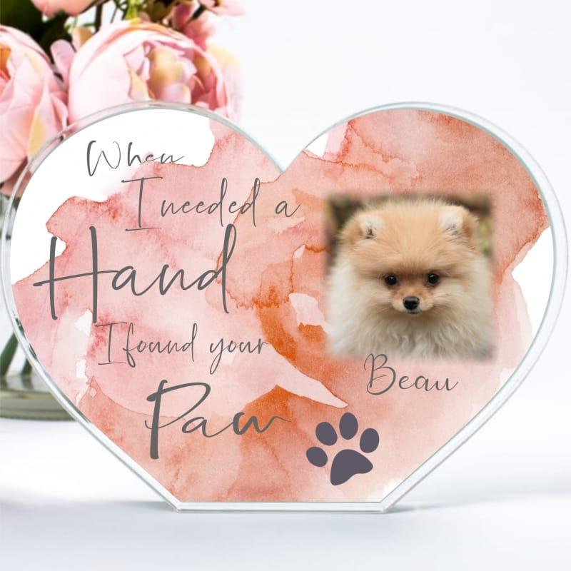 When I Needed A Hand Pet Heart Block