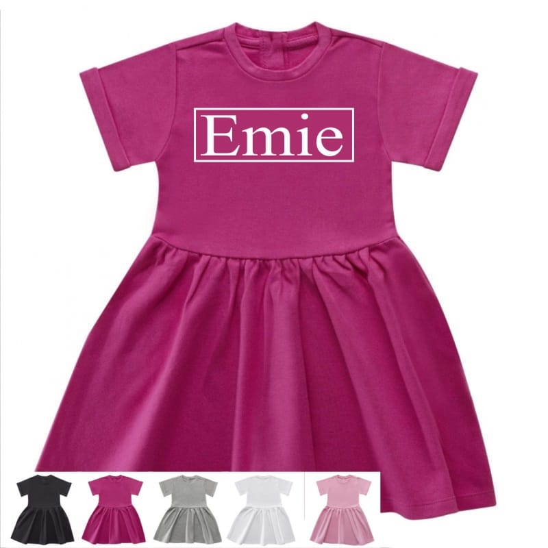 Personalised name dress