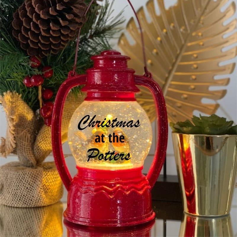 Robin Snow Globe Red - Christmas at ...