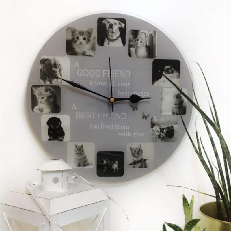 Personalised clock - Friend