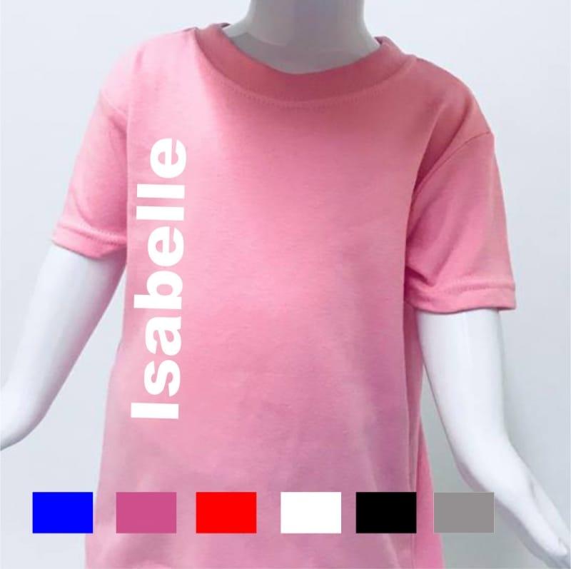 Personalised large name T-shirt