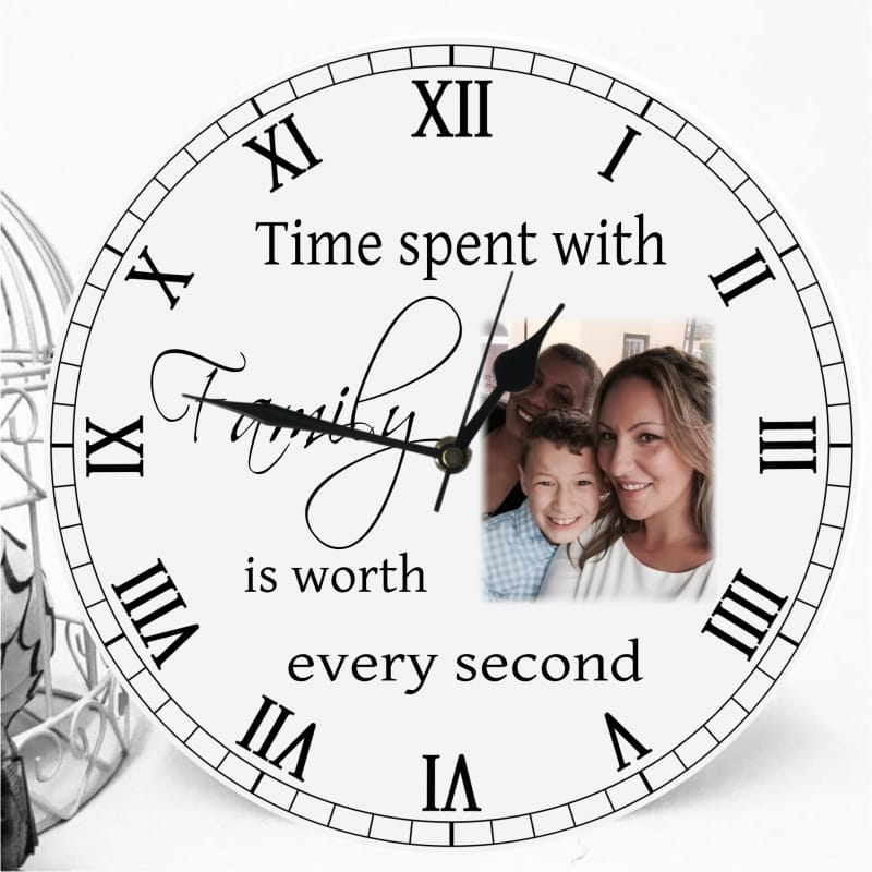 Personalised clock - Time spent...
