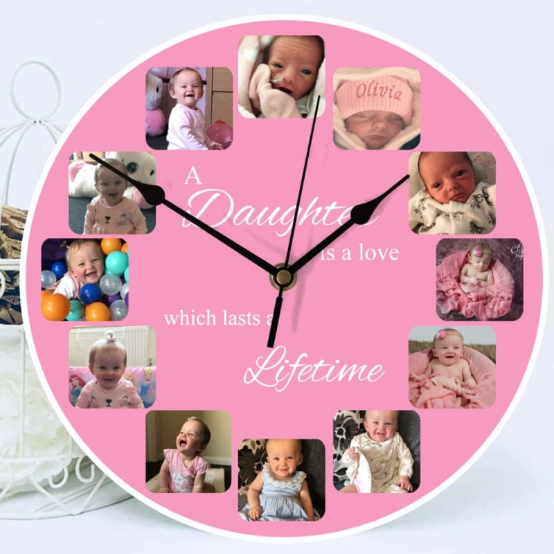 Personalised clock - A love which