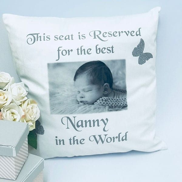 Glitter Cushion - This Seat Is Reserved