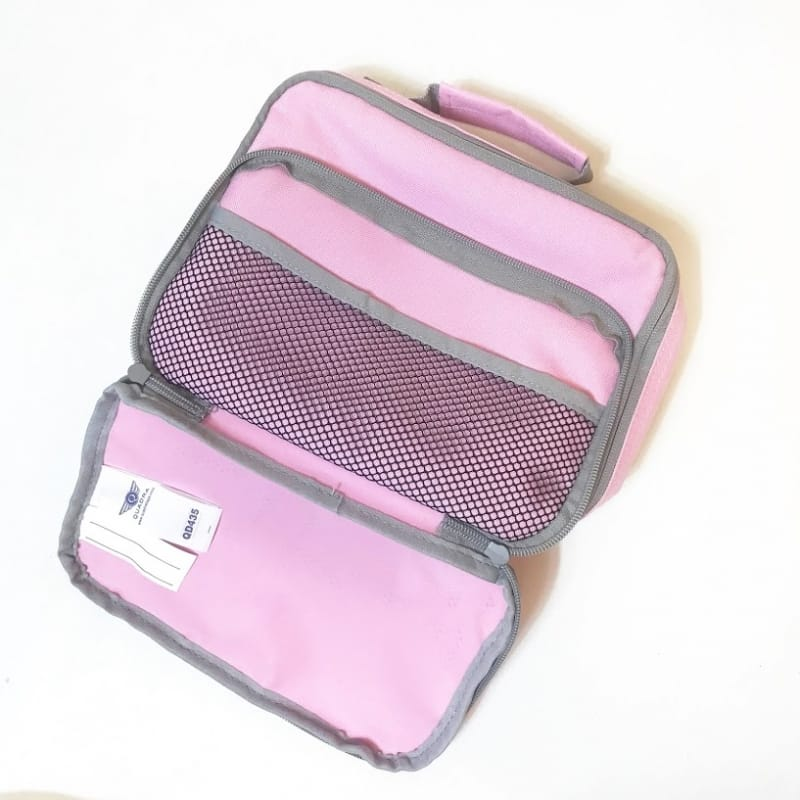 Personalised Lunch Bag - Initial Pink