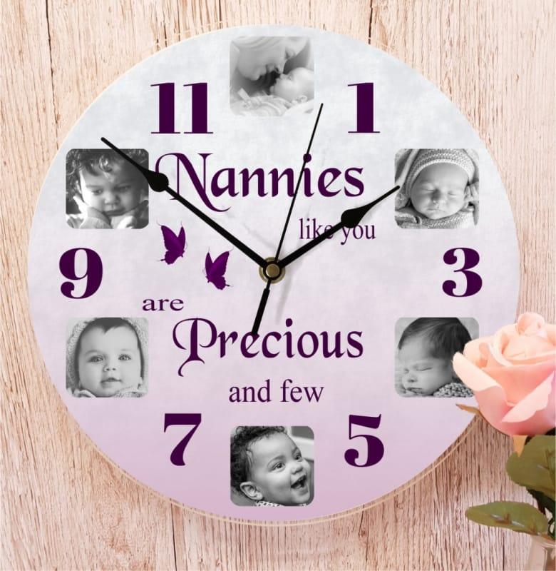 6 photo clock - Precious and few
