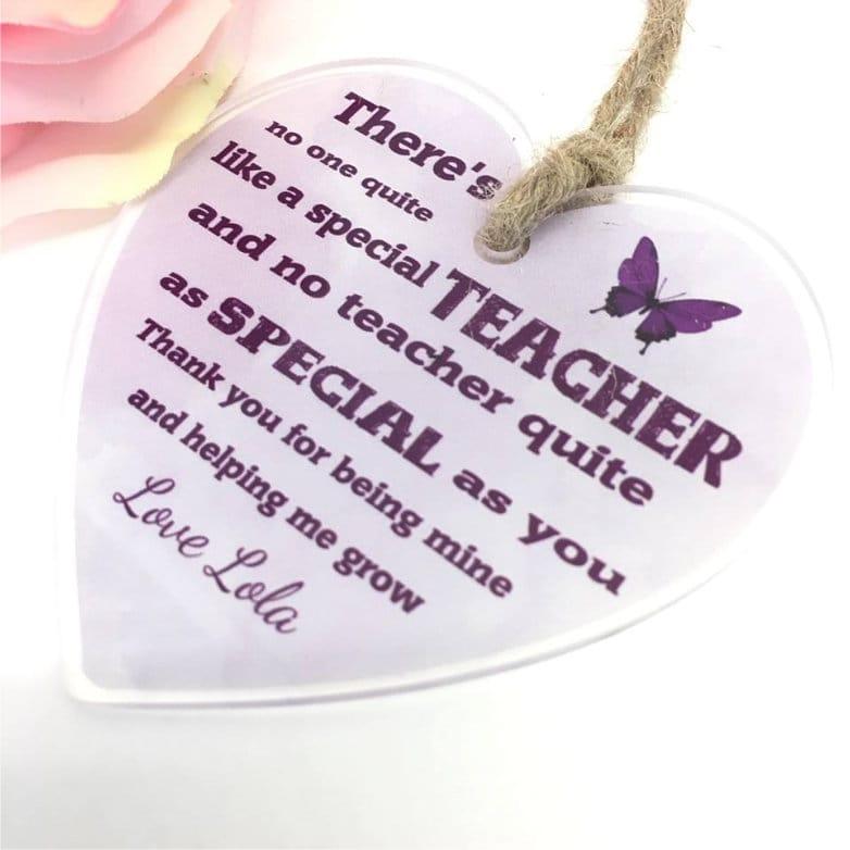 Special Teacher : Heart