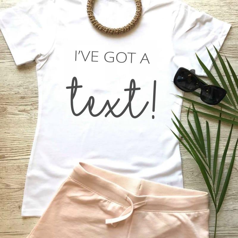 """I've got a text"" Loungewear Set"