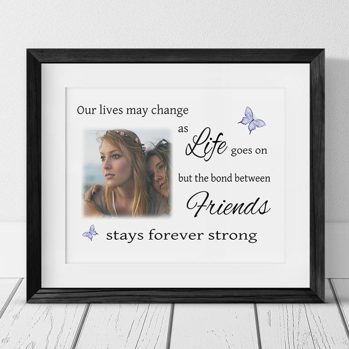 As life goes on : Frame, Block or Plaque