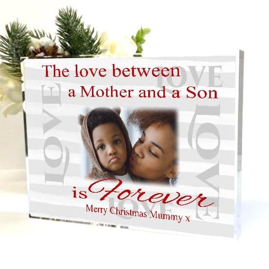 Christmas Photo Block - The love between