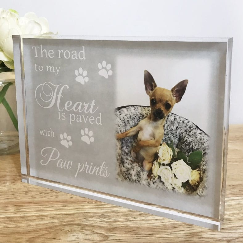 The road to my heart Pet photo block