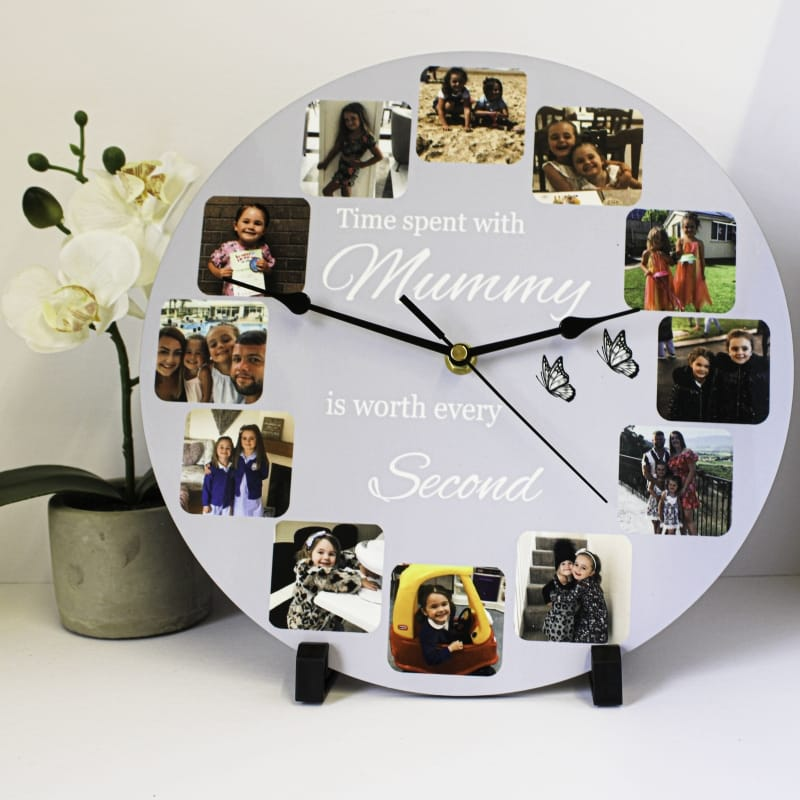 Personalised clock - Time spent with