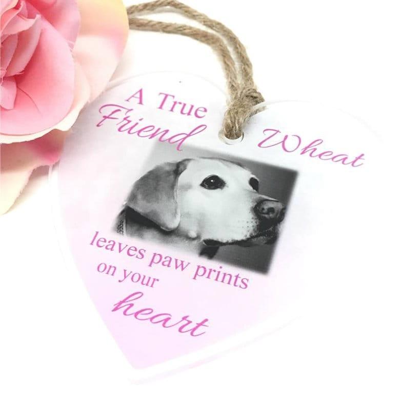 Personalised Acrylic Heart - A true friend