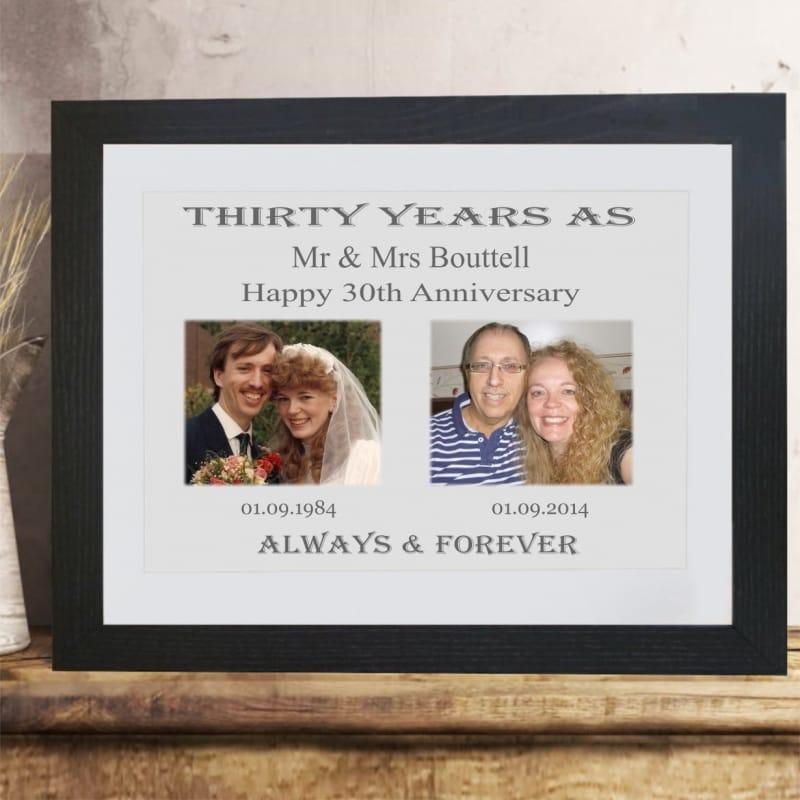 Personalised Anniversary Keepsake