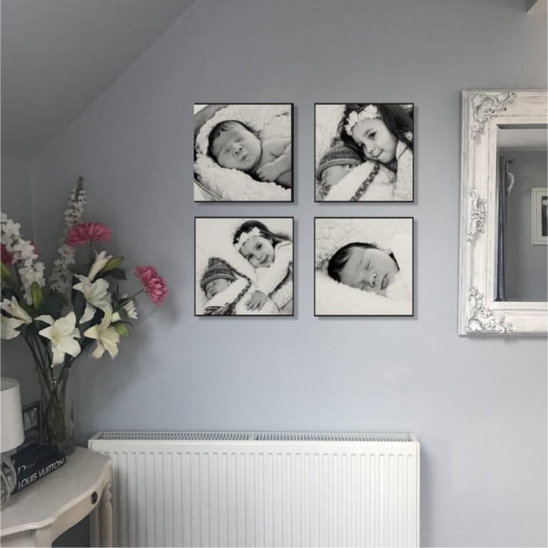 Luxury one photo wall panel