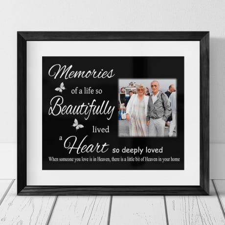 Personalised photo gift - Memories
