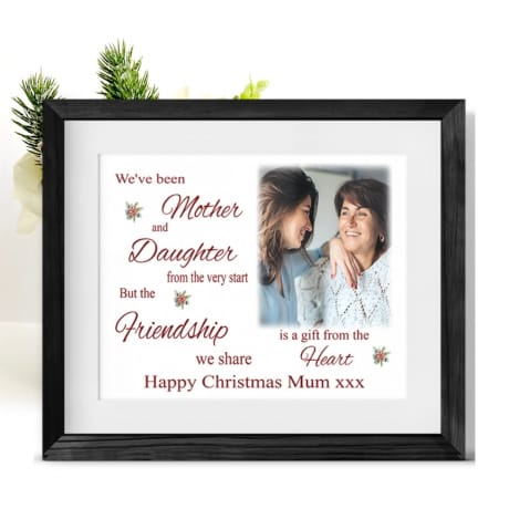 A Gift From The Heart Christmas Frame Mum