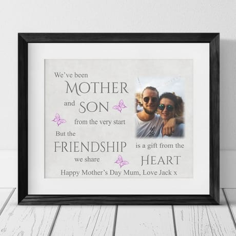 Mother and Son Mother's day gift