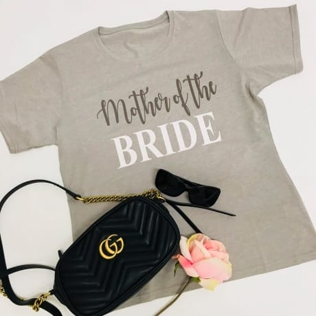 Glitter text wedding lounge wear - Mother of the bride