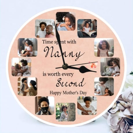 Mother's day clock - Time spent with