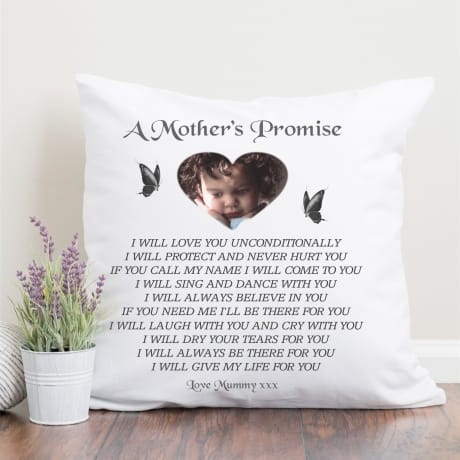 Personalised Cushion - Promise
