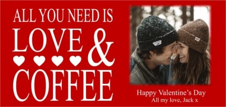 Personalised mug - All you need is love & ...