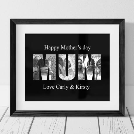 Mum personalised photo collage mother's day