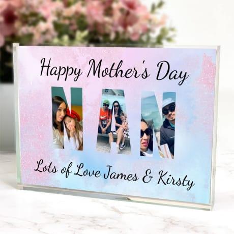 Nan Mother's Day Photo block