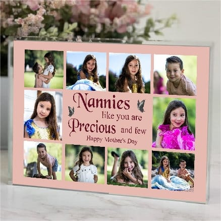 Personalised 8 Photo Block Collage