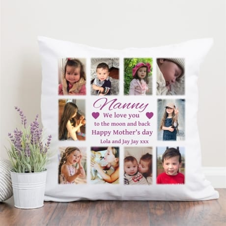 Mother's day Cushion - I Love You To The Moon