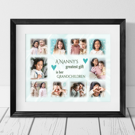 Personalised Photo Collage - Greatest Gift
