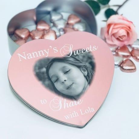 Heart sweet tin