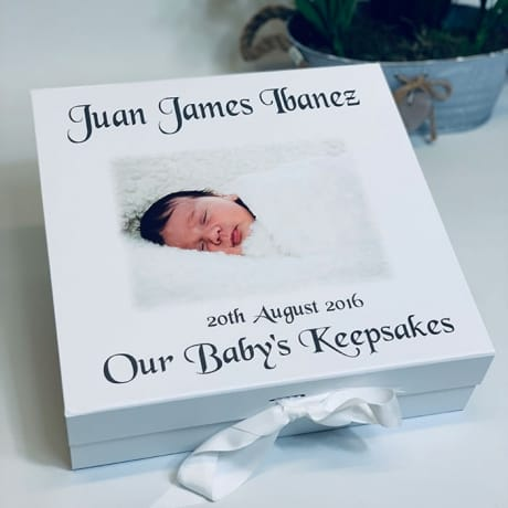 Our Baby's Keepsake Box