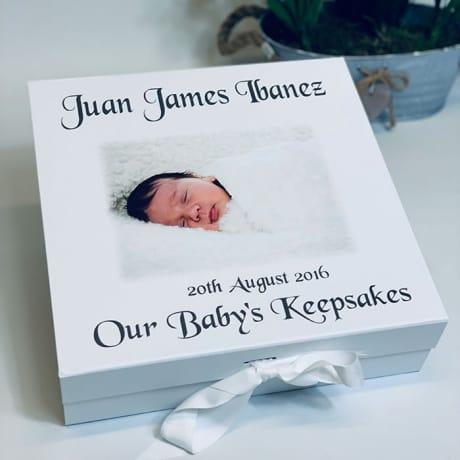 Our Baby's Keepsake Box