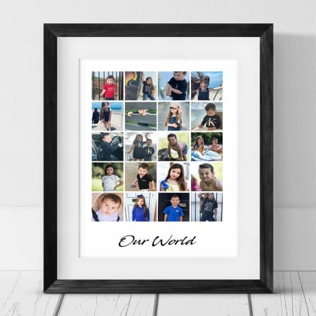 20 Photo Collage Frame