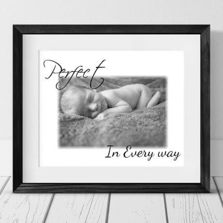 Personalised photo gift - Perfect in every way