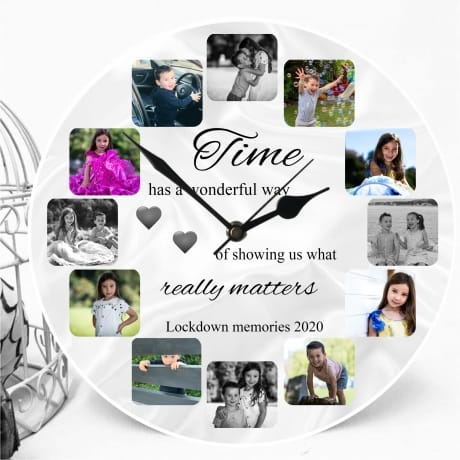 Personalised clock  Time...