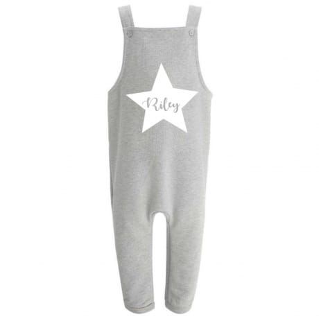 Personalised star name Dungarees